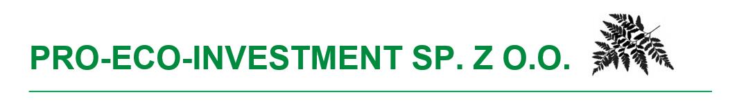 PRO-ECO-INVESTMENT Sp. z o. o